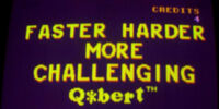 Faster Harder More Challenging Q*bert