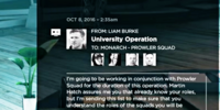 University Operation