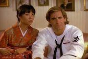 Machiko and Sam as Charlie MacKenzie