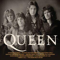 Icon queen albumcover