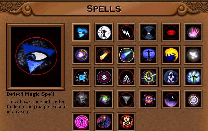 Spells | Quest for Glory Omnipedia | Fandom powered by Wikia
