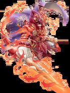 Ignis Volganon (Crimson Comet) transparent