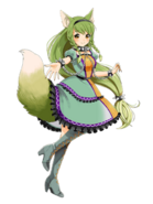 Nina (The wolf girl from foremost forests) transparent