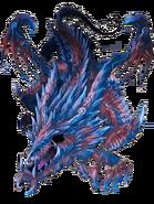 Impure Cursed Dragon transparent