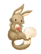 Flame Rabbit transparent