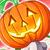 Red hot pumpkin Icon