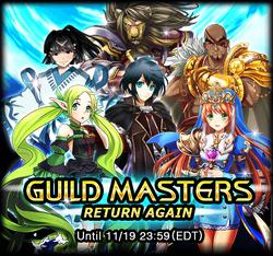 The Guild Masters Return Again Announcement