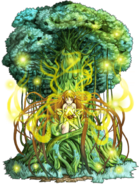 Yugdracil (Tree of the Heavens) transparent