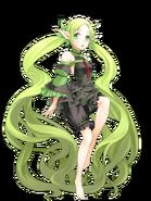 Loretta (Black Princess) transparent