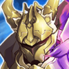 Gold Knight Duke Icon