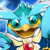 Jump Penguin (Sky Blue) Icon