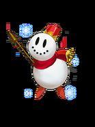 Snowman (Red) transparent