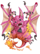 Blaze Bat transparent