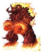 Flare Golem transparent