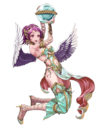 Valerie (The Red Winged Angel) transparent