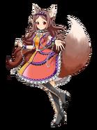 Nina (The wolf girl seeking for freedom) transparent