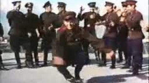 Russians Soldiers Dancing to Ra Ra Rasputin