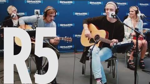 """R5 """"Heart Made Up On You"""" SiriusXM Hits 1"""