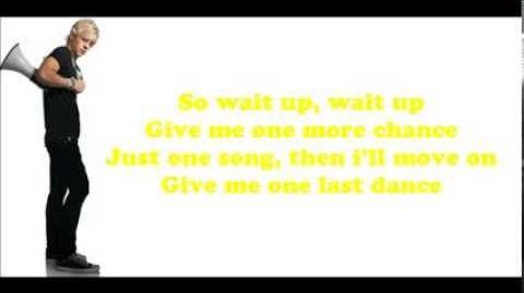 One Last Dance - Lyric Video