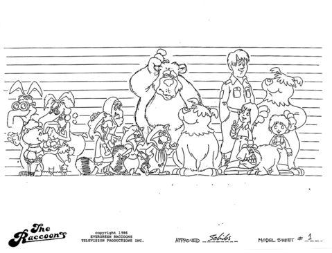 File:The Raccoons Model Sheets - Size Comparison.jpg