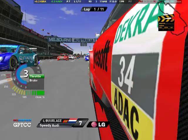 S2 Albert Park - Race 1