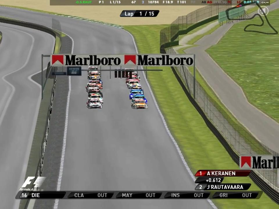 S2 A1 Ring - Race 1
