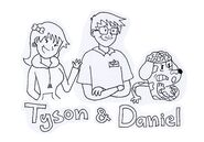 Tyson Daniel and Sharona