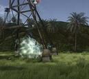 Radiation Island Anomalies