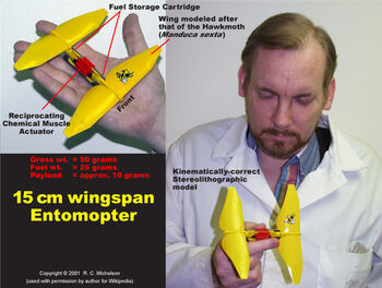 Yellow SLA Entomopter