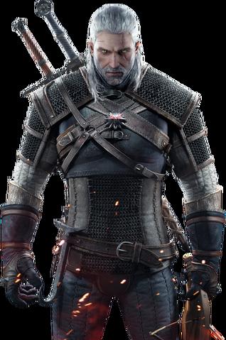 Vaizdas:Tw3 Geralt of Rivia newest render.png