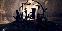 Developer Graffiti room