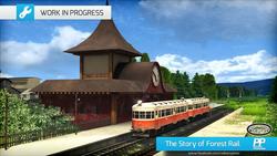 The Story of Forest Rail station WIP