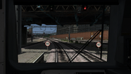 Class 166 cab view