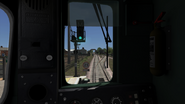 Class 421 cab view