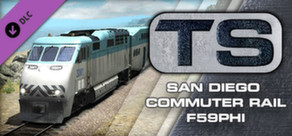 San Diego Commuter Rail F59PHI Steam header