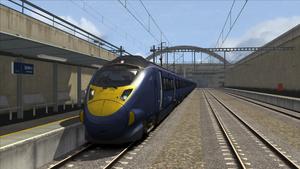 Class 395 Stratford International L2F