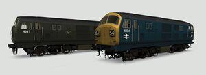 IHH BR Western Diesels Class 22