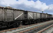 UK Coal Wagons Pack 02