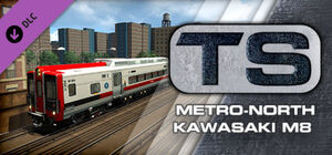 Metro-North Kawasaki M8 EMU Steam header