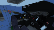 Class 395 cab view