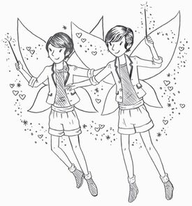 Twins illustration