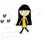 Gracia the Gray-headed Flying Fox Fairy drawn by Destiny-0