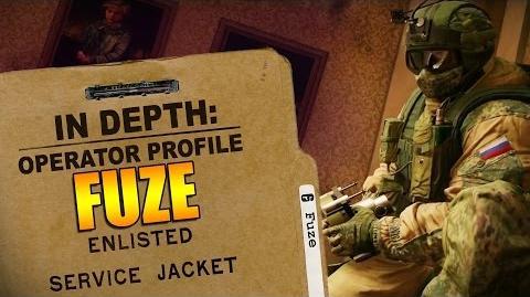 Rainbow Six Siege - Operator Profile FUZE-0