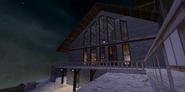 Vezirzade's dacha snow