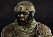 Blackbeard Skull Rain
