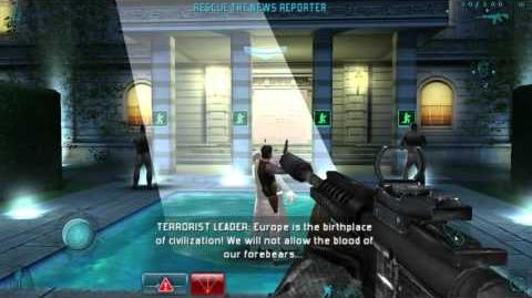 Tom Clancy's Rainbow Six Shadow Vanguard - Rescue the News Reporter
