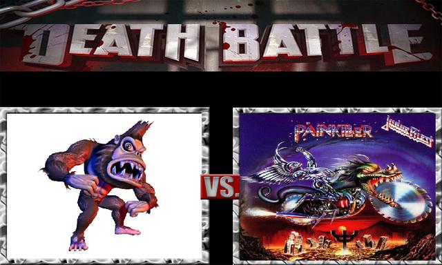 File:DEATH BATTLE Idea - George Vs. Painkiller.png