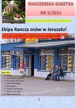 Ranczerska Gazetka 5 Okładka