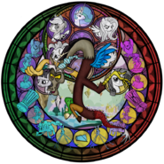 Discord-stain-glass-my-little-pony-friendship-is-magic-27749057-894-894