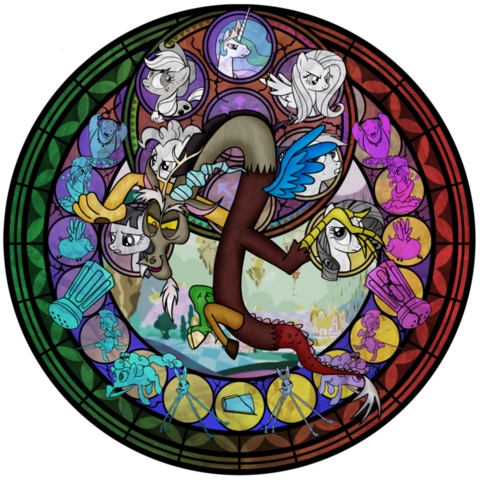 File:Discord-stain-glass-my-little-pony-friendship-is-magic-27749057-894-894.png